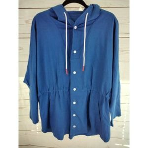 NWOT Katie Sturino Stitch Fix Linen Blend Jacket M